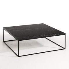 Mahaut Marble and Black Metal Coffee Table AM.PM. : price, reviews and rating, delivery. Mahaut coffee table. Elegant and understated, this table combines a luxury marble top (smooth and tough) with a very fine metal frame.Features: - Black marble top (4mm thick), each piece is unique so the marbled effect may vary.- Metal frameSize: - L100 x H33 x D100cm.Size and weight of parcel:- L108.8 x H42.9 x D110.2cm, 36kg. Home delivery:Your coffee table will be delivered to your door by…