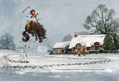 """""""There's one Christmas present she won't break in a hurry"""". ~ Thelwell ~"""