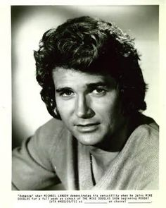 Another one for the ages....michael Landon. Gave us decades of wonderful shows. He was also very honest about his struggles through life.