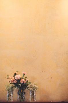 Simple Wedding Flowers Flores de boda #ramo #novia #arreglos #centros de mesa