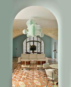 Хорхе Пардо в Арле: американский художник и французский отель • Интерьеры • Дизайн • Интерьер+Дизайн