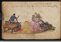 Stammbuch   Andreas von Schwerin   German; Frankfurt   1606   Cod.hist.oct.221-4   State Library of Württemberg   Catalog #: 420416072