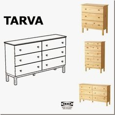 case e interni - trasformare cassettiera Tarva Ikea (1)