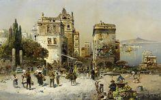 Robert Alott (1850/1910) - Pintor Austríaco.
