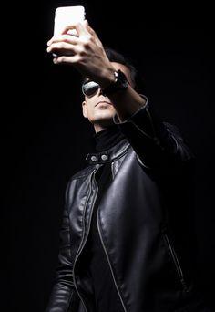 violinist ( me ) :D http://volkankovancisoy.tumblr.com   http://500px.com/volkankovancisoy  https://instagram.com/volkankovancisoy  , #leather #portrait , #violinist ,  #fashionphotographer, #fashionphotography , #highfashionphotos , #leatherjacket , #turkey ,  #fashion ,  #manfashion, #volkankovancisoyphotography, #policeglasses, #beymen, #canon85mm , #eskisehir , #sexy, #glasses #iphoneselfie
