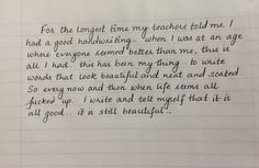 Love writing...glad I found others who do too :) tell me what you guys think of my writing <3 - Imgur