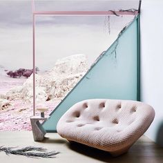 Coup de coeur: Ploum Sofa by Ronan and Erwan Bouroullec for Ligne Roset - Trendy Home Decorations Best Interior, Interior And Exterior, Interior Design, Ploum Ligne Roset, Colour Schemes, Color Trends, Banquettes, Teintes Pastel, Trendy Home