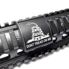 Shop Custom Gun Rails - Dont tread on me Rail deals at GovX! We offer exclusive government and military discounts. Register for free today!