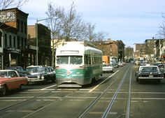YES! That s the street car I knew and loved! Washington DC Streetcar - Early 1960's
