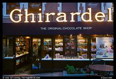 Ghirardelli chocolate store, Ghirardelli Square. San Francisco, California