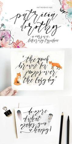 Hand Lettering Fonts, Typography, Learning, Design, Letterpress, Letterpress Printing, Studying, Teaching