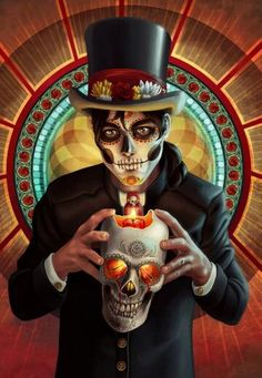 Day of the Dead Brujo