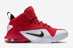 486135013b5eb3 Nike Air Penny 6 (Red Suede) - Sneaker Freaker