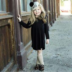 Everyday Jersey Knit Ruffle Tunic Dress - LITTLEMISSDESSA