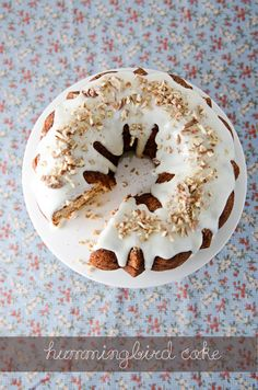 Hummingbird Cake | Sugar and Grace