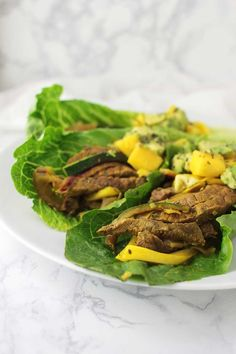 These Beef Fajitas with Mango Salsa are not only a breeze to make and full of flavor, but they're allergen-free and autoimmune protocol-friendly!