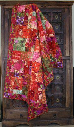 Pattern is from the book by Kaffe Fassatt Kaleidoscope of Quilts
