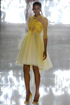 aclockworkpink:    Chado Ralph Rucci S/S 2013, New York Fashion Week