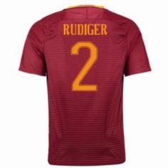 16-17 Roma Home #2 Rudiger Cheap Replica Jersey [G00830]