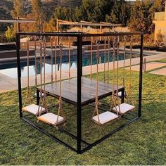 50 summer diy projects pallet swings design ideas and remodel Future House, House Goals, Dream Rooms, Home Deco, My Dream Home, Home Projects, Pvc Pipe Projects, Outdoor Projects, Pallet Projects