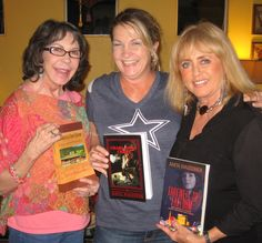 Readers Maryanne and Lisa with author Anita Waggoner at book signing in Las Vegas, Nevada.