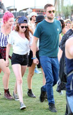 Robert and Kristen Keep the Coachella Fun Coming at Day 2
