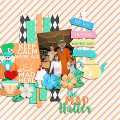 Mad Hatter - MouseScrappers - Disney Scrapbooking Gallery Nice to Meet You Mad Hatter https://kellybelldesigns.com/store/index.php?main_page=product_info&cPath=16&products_id=1341&zenid=71cd1245079d417d4b308cd674a6db48 by Kellybell Designs Beauty Within Grab Bag http://store.gingerscraps.net/Beauty-Within-Grab-Bag.html by Blue Heart Scraps, Dear Heart Designs, Miss Fish Templates, and Tinci Designs