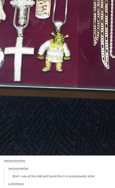 a5cab17f1 Shrek is love. Shrek is life. Doesn't help that its next to a cross lol wtf?