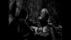"""""""The Seventh Seal (Swedish: Det sjunde inseglet) is a 1957 Swedish historical fantasy film written and directed by Ingmar Bergman. Max Von Sydow, Christopher Plummer, Martin Scorsese, Bergman Movies, The Seventh Seal, Ingmar Bergman, Wild Strawberries, Fantasy Films, Second Best"""