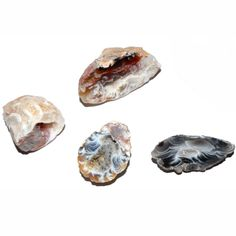 Achat-Geode Feengärtchen 2 - 2,5 cm - Glücksbringer - Cleopatra's Duft-Oase