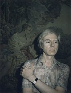 Andy Warhol and his Tank, which he claimed he never bothered to wind. 1970