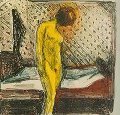 Revelação da alma feminina em 'Mulher Chorando Frente ao Leito', quadro de 1930