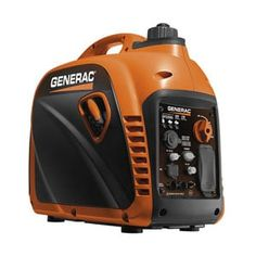 Provide outdoor enthusiasts with a portable power solution using this Generac Gasoline Powered Recoil Started Residential Portable Inverter Generator. Best Portable Generator, Portable Inverter Generator, Solar Generator, Honda Generator, Camper Generator, Solar Energy, Solar Power, Silent E, Motors