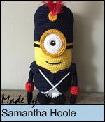 Sabrina's Crochet - Free crochet pattern Minion (French Soldier)