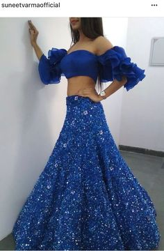 I love this color Indian Wedding Gowns, Indian Gowns, Indian Attire, Pakistani Dresses, Indian Outfits, Indian Designer Outfits, Designer Dresses, Lehnga Dress, Indian Look