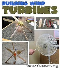 Wind turbines are a type of alternate energy source. This project of making a wind turbine would be an engaging way for students to learn about wind turbines and why they are used to generate electricity. 4th Grade Science, Stem Science, Middle School Science, Physical Science, Science Fair, Science Lessons, Science For Kids, Elementary Science, Upper Elementary