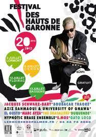 FESTIVAL DES HAUTS DE GARONNE à Lormont, Cenon, Floirac et Bassens (33) du 5 au 13 juillet