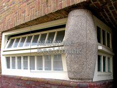 Foto Amsterdamse school, 19 eeuwse bouw. Baksteenarchitectuur ...