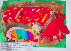 Kunstunterricht in der Grundschule, Kunstbeispiele Klasse 1 bis 6, Ostern - 136s Webseite! Piglets, Website, Art Education Lessons, First Class, Elementary Schools, Easter Activities