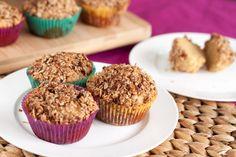 Cinnibun Oat Streusel Muffins