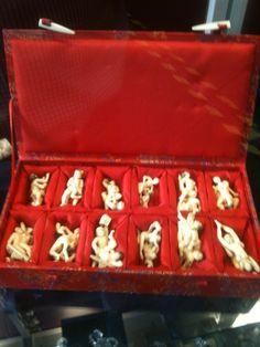 Fantastiche sculture in avorio erotic netsukèchiama Danilo 0039 335 6815268 Amazing ivory erotic netsukè sculptures call Danilo 0039 6815268