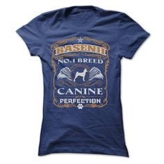 BASENJI NO 1 BREED CANINE PERFECTION T SHIRTS  ==> Your shirt is screen printed on high quality material!  ==> Dont delay! Please Order it now!