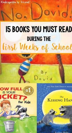 This list of read-alouds is great for the first week of school with your kindergarten students! These books and activities will help fill your school day when you head back to school. My kids favorite is definitely number 2!