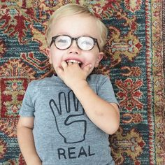 71842d53314a1c but 4 real. how cute is he in our Paul frames! Boys Glasses