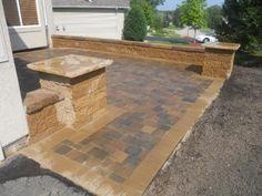 front yard landscape design Farmington,, MN
