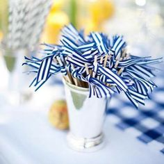 Items similar to Ribbon Drink Stirrers (Set of 50) on Etsy