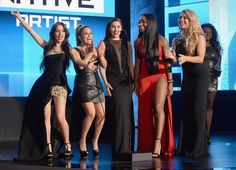 Fifth Harmony presenting at the AMAs