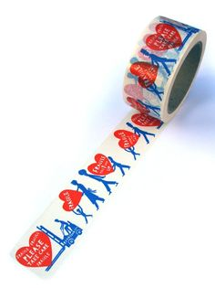 'Fragile' Tape by Rob Ryan. Lovely!