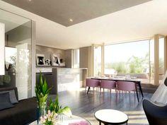 Byt 2+kk 74 m² k prodeji Kavkazská, Praha - Vršovice; 5089100 Kč, terasa, výtah, cihlová stavba, osobní vlastnictví, novostavby.