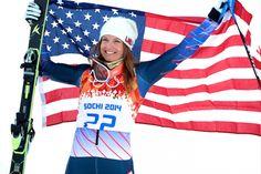 Julia Mancuso Wins Bronze In Super Combined. Sochi Winter Olympics 2014: Team USA Highlights for Day 3